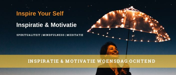 Inspiratie & motivatie meditatiecoach